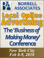 Borrell Associates' Local Online Advertising Conference, NYC, Feb. 8-9, 2010