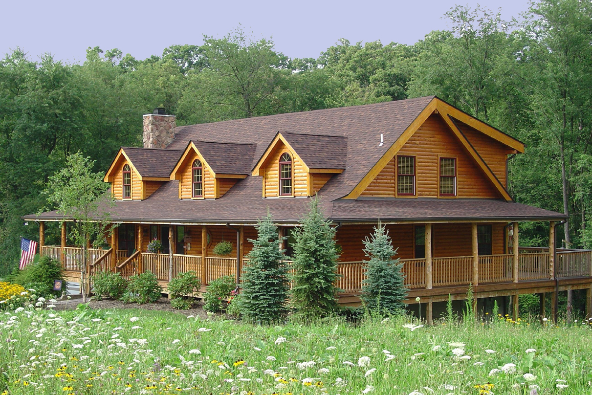 Pittsburgh log home company appoints national director of for Log cabin style house