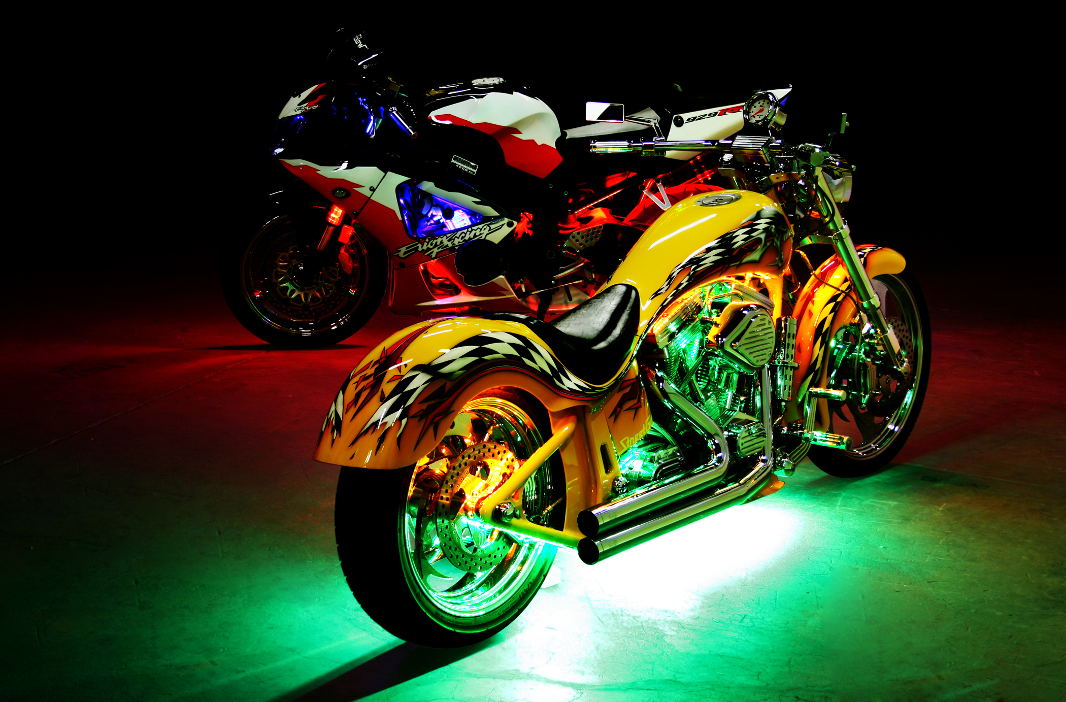 Motorcycle Lighting and accessories ... & Aftermarket Lighting Leader Streetglow Inc. Proudly Presents ... azcodes.com