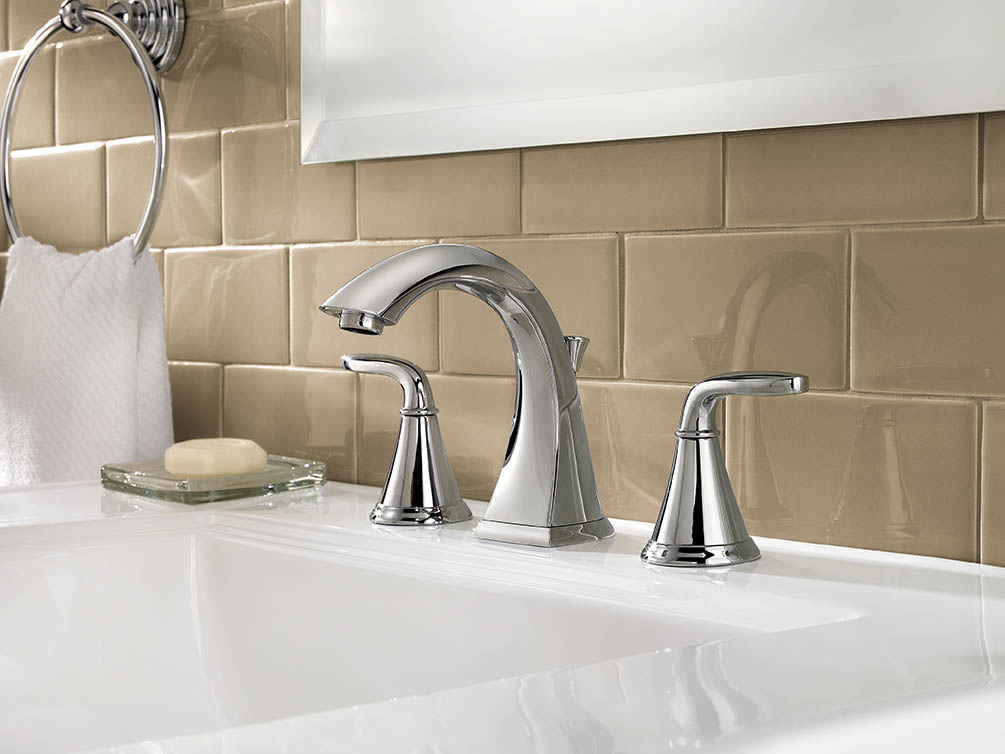 7 Faucet Finishes For Fabulous Bathrooms: Price Pfister Presents Pasadena Lavatory Collection