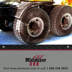 Minimizer poly fenders now utilized by salt mine industry
