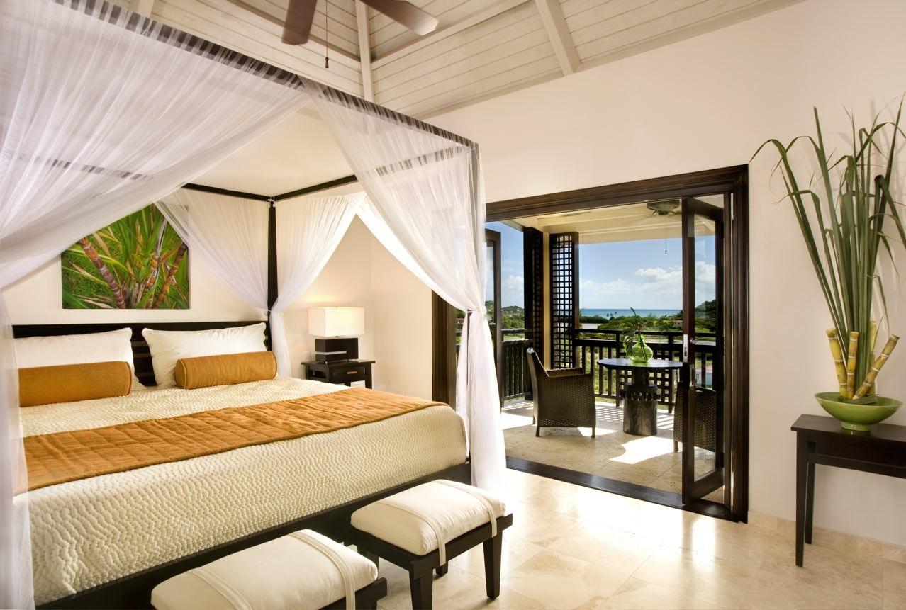 Interior Designer Charmaine BenjaminWerth Translates Sugar Into A  Caribbean  interior design. Caribbean Bedroom Design   deathrowbook com