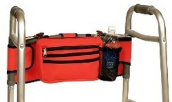 Innovative New Walker Bag Makes Unique Gift For Medical Walkers Or Wheelchairs