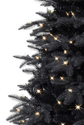 twilight black christmas tree by treetopia - Black Artificial Christmas Tree
