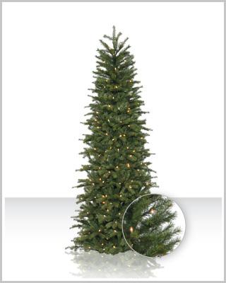 Tall Narrow Christmas Tree Artificial
