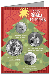 Personalized holiday cards at Hallmark.com