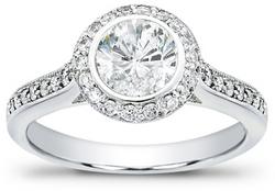 Diamond Engagement Ring from Adiamor