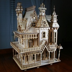 Victorian Dollhouse Parts And Victorian Doll House Kits