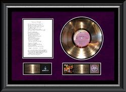 RIAA Platinum Album awarded to high bidders