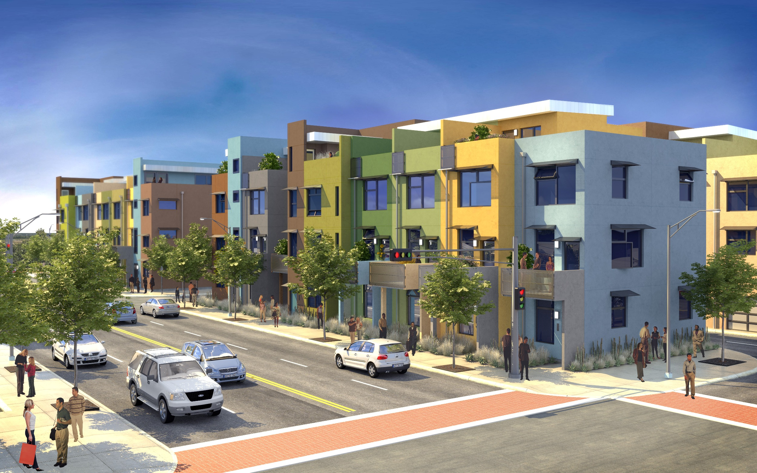 Elements Urban Townhomes72 Green Urban Town Homes Being Built In Downtown  Albuquerque. Each Home Is Built And Designed To Achieve LEED Gold And  Operates 40% ...