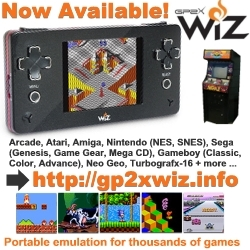 Classic Arcade and Game Console Emulation Goes Portable: The GP2X