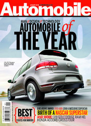 automobile magazine names volkswagen gti automobile of the year