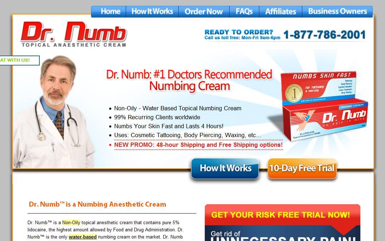 Numbing Cream Walgreens for Pinterest