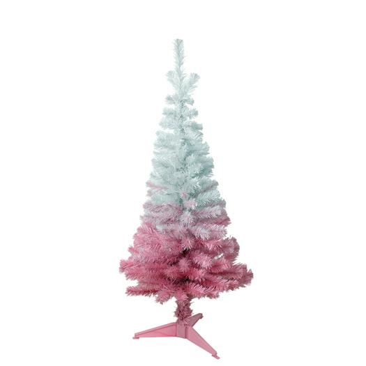 pink and white christmas tree 120cm 695 - Hot Pink Christmas Tree