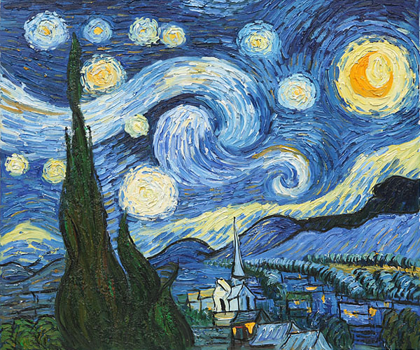 Van Gogh Starry Night is the World Most Popular Oil ...