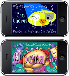 Musical Cat Apps for iPhone and iPod Touch