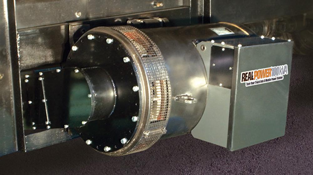 Ram Mount Parts >> Real Power's 180 kVA Truck-Mounted AC Generators Gaining ...