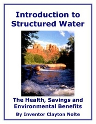 This 141 Page E-book Introduction to Structured Water E-book is available for free.