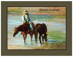 Bonnie Conrad, The Lady and her Mare