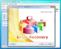 Drive Recovery screenshot