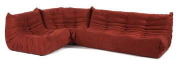 Downlow Sectional SofaThe Molded Foam Sectional Is Upholstered With  Microfiber.