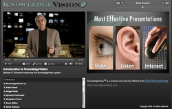KnowledgeVision synchronizes video and PowerPoint for on-demand web presentations