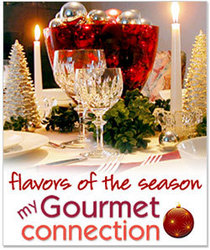 Holiday recipes, entertaining tips, cocktails and gift ideas at MyGourmetConnection.co