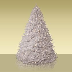 white-christmas-trees