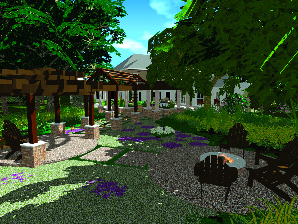Landscape design software vizterra landscape designs for 3d garden design