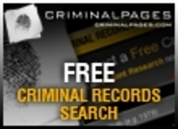 Free Criminal Records Search