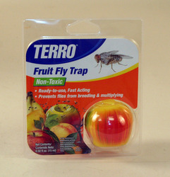 get rid of fruit flies with terro 39 s new fruit fly trap. Black Bedroom Furniture Sets. Home Design Ideas