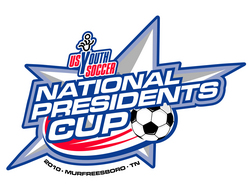 2010 US Youth Soccer National Presidents Cup logo