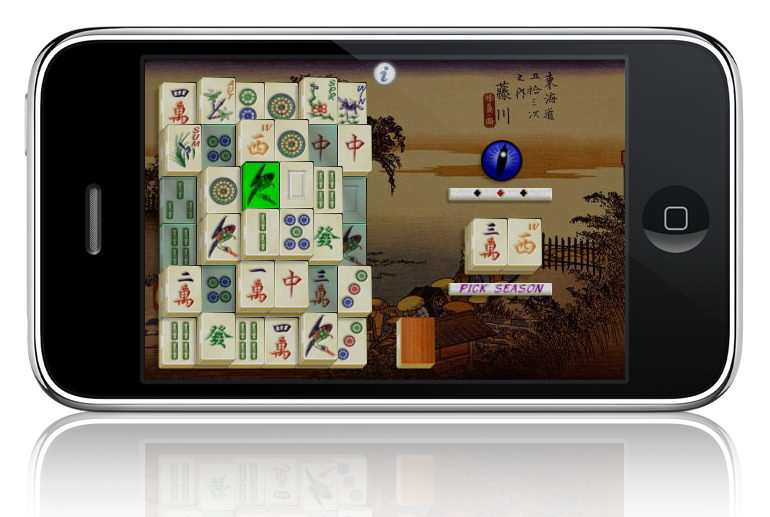 New Mahjong Wall Game Available For Iphone Ipod Touch