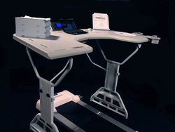 TrekDesk: Save Your Joints and Your Life.