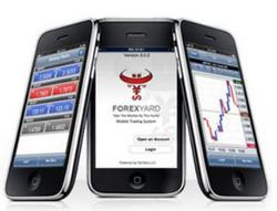 ForexYard iPhone