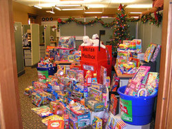 Clark Pest Control Holiday Donation to Toys for Tots