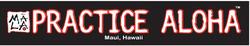 Practice Aloha Sticker