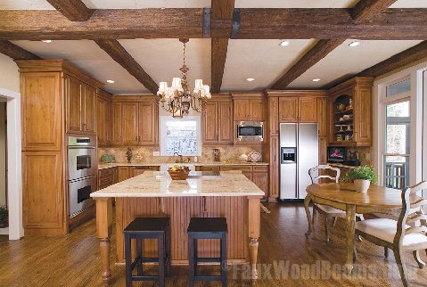 Faux Wood Beams In Custom Sizes For A Perfect Fit