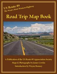 New US Route Road Trip Map Book Is The Complete Guide For A - Us route 89 map