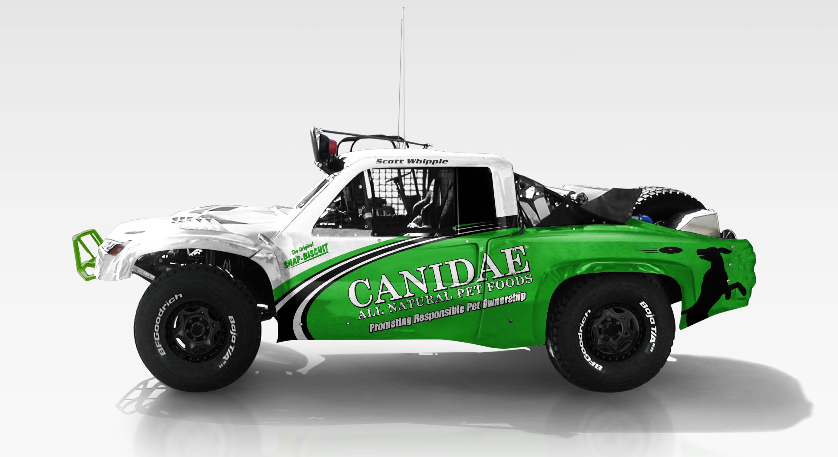 Canidae Pet Foods Trophy Truck Unveiled Debuts This