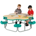 Preschool Activity Table For School Or Daycare Classroom Or Cafeteria