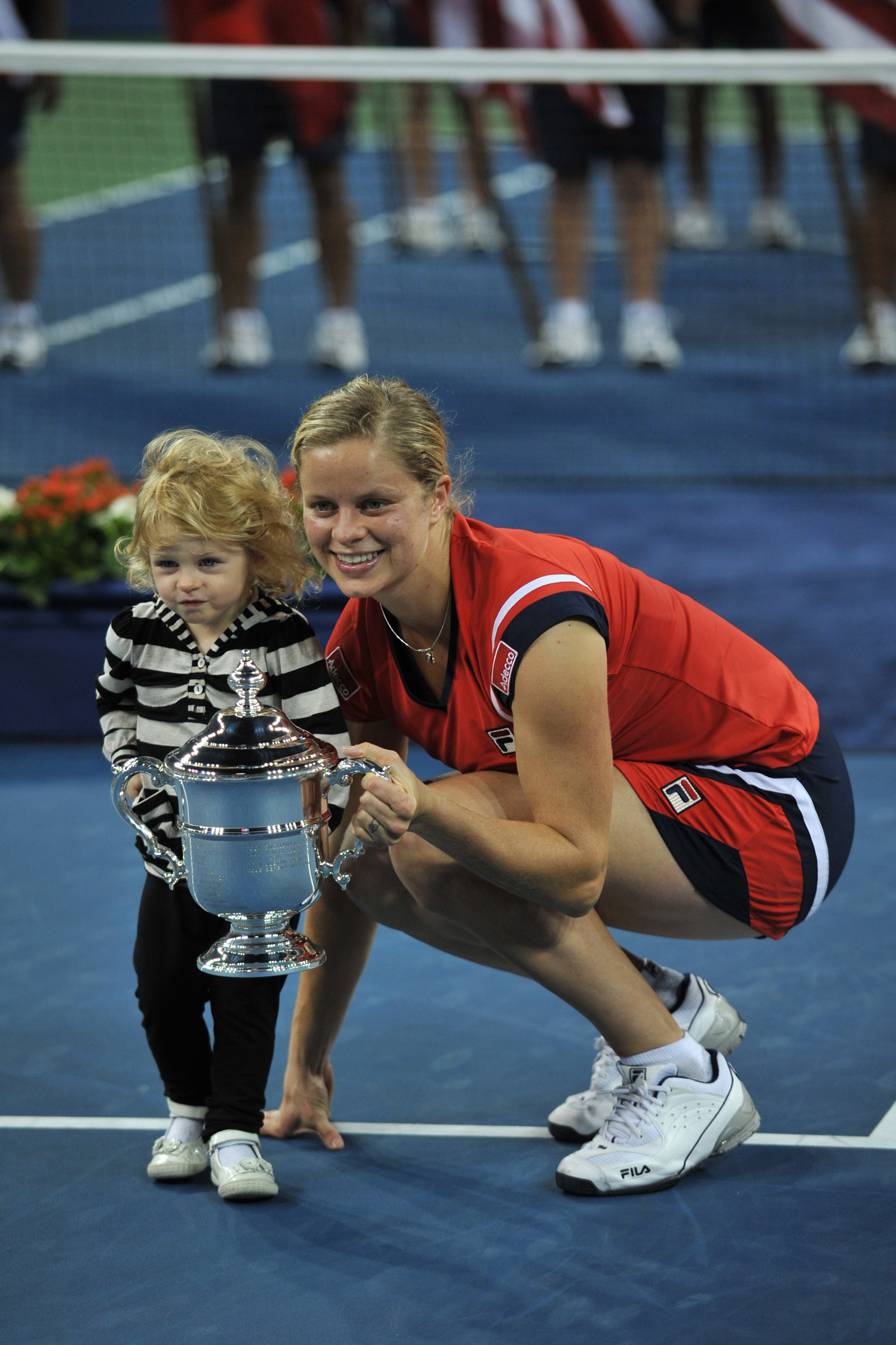 Fila Extends Agreement with 2009 US Open Champion Kim Clijsters