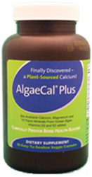 AlgaeCal Plus, the first Bone Health product containing organic certified calcium