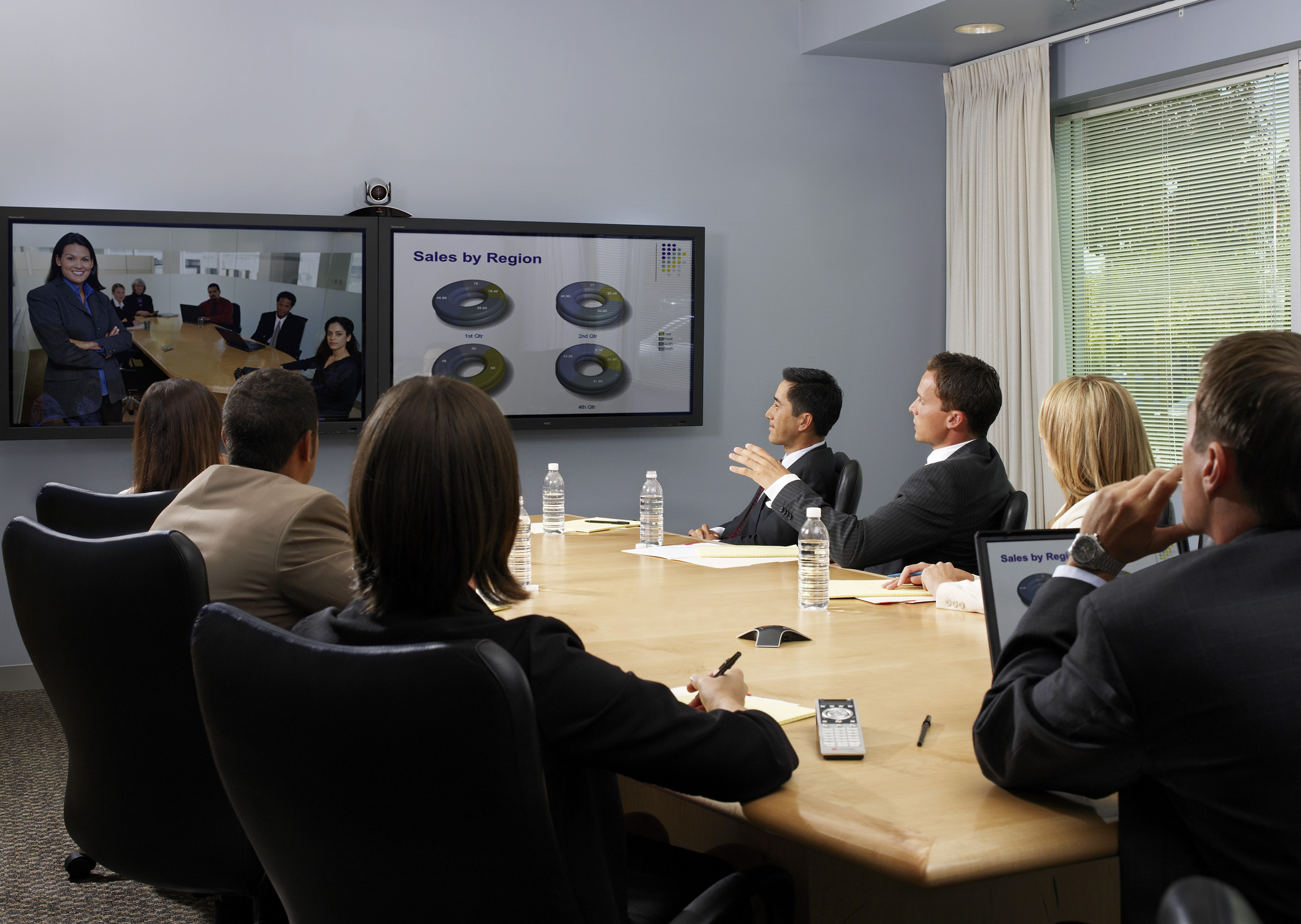 Video Conferencing Polycom And Tandberg Vs Skype