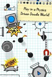 Doodle Bomb physics