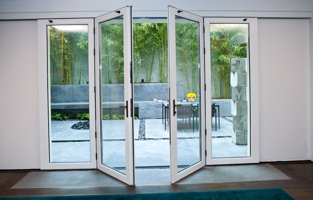 Uye home glass sliding door systems for Door in the wall
