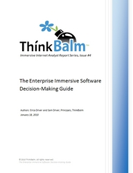 The Enterprise Immersive Software Decision-Making Guide