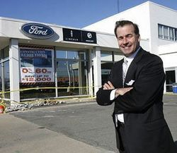 Richmond Ford Lincoln >> Richmond Ford Lincoln Mercury S Dealership Is Getting A Face