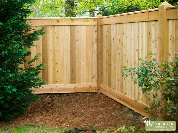 Atlanta fence company 39 s new website gets high marks for Wood privacy fence ideas