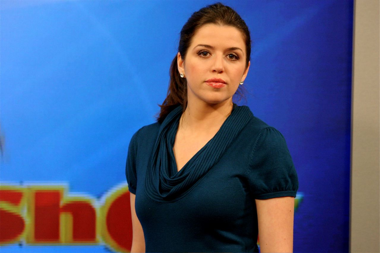 Alyona Minkovski, the host of RT's show The Alyona Show, airs weekdays ...